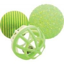 Zolux Pack of 3 varied balls 4cm