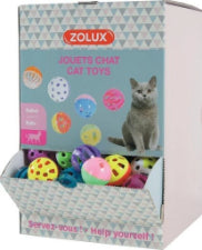 Zolux Cat Balls with bell x 1 Piece