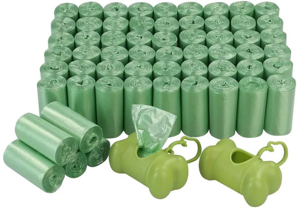 Poop Bags - non scented 20 bags (1 roll)