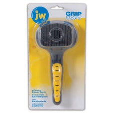 JW Gripsoft Self-Cleaning Slicker Brush - Cat (65060)
