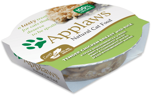 Applaws Cat Food - Chicken Breast with Rice 60g Pot x 10