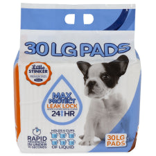 "Little Stinker Puppy Pads 24x24"" 30 Pack"