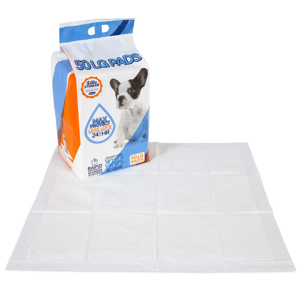"Little Stinker Puppy Pads 24x24"" 50 Pack"