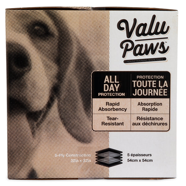 "Valupaws Training pads 22x22"" 200 pack"