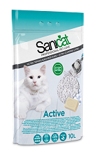Sanicat Active Clumping Cat Litter 10L