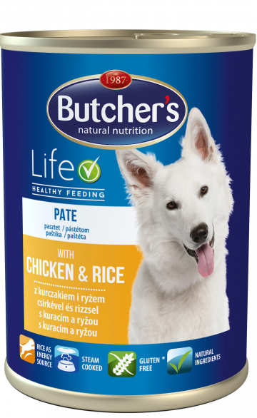 Butcher's Life - Chicken & Rice 390g Pate