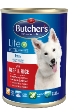 Butcher's Life - Beef & Rice 390g Pate