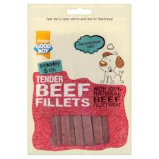 Good Boy Dog Treats Tender Beef Fillets 90g