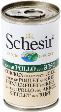 Schesir Cat - Chicken with Rice 1 x 140g Tin