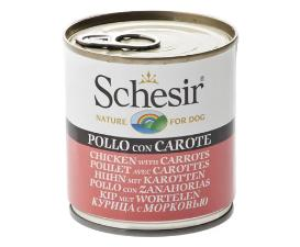 Schesir Dog - Chicken & Carrots 285g Tin