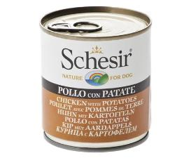Schesir Dog - Chicken & Potato 285g Tin