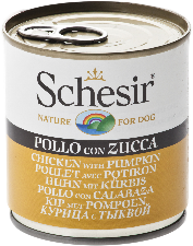 Schesir Dog - Chicken & Pumpkin 285g Tin