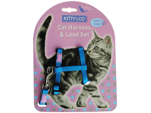 Hem & Boo Cat Harness Set (CH1459)