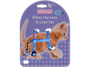 Hem & Boo Kitten Harness Set (CH2929)