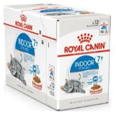 Royal Canin 7+ Indoor Gravy 12x85g Pouch