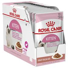 Royal Canin Kitten Instinctive Gravy 12x85g Pouch
