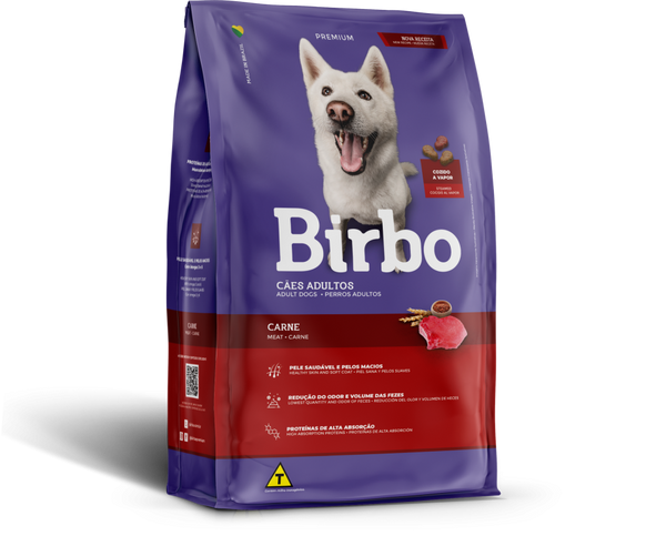 Birbo Meat Flavour Dog Food Dry 15kg