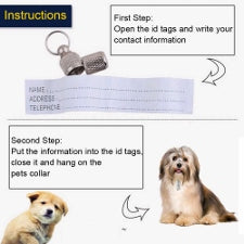 Pet ID Tags metal