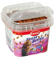 Sanal Cat Fish Bites in a cup 75g