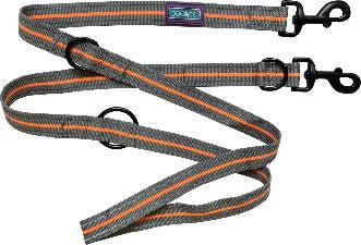 "Hem & Boo 72"" Orange Training Lead"