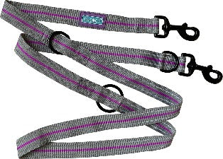 "Hem & Boo 72"" Purple Training Lead"