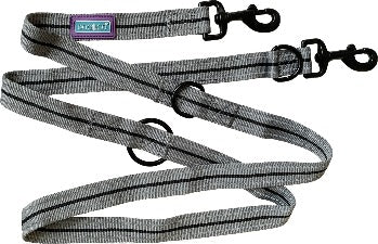 "Hem & Boo 72"" Black Training Lead"