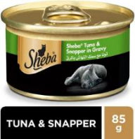 Sheba Tuna & Snapper in Gravy 85g