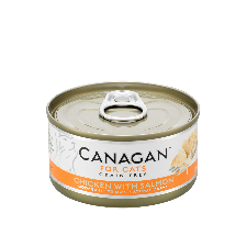 Canagan Cat Chicken with Salmon 75g Tin