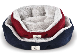 Feline Go Cat Bed Large - Red 70x65cm