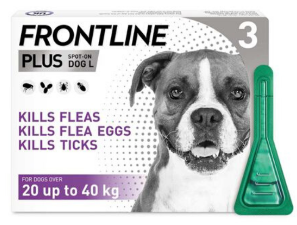 Frontline PLUS for Dogs 20-40kg