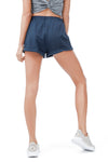 ALLFENIX - SHORTS - LACE UP NAVY - She Collective HK