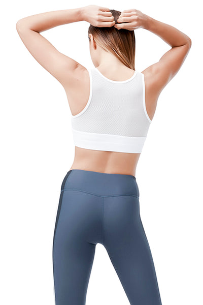 ALLFENIX - SPORTS BRA - SABLE  V - WHITE - She Collective HK