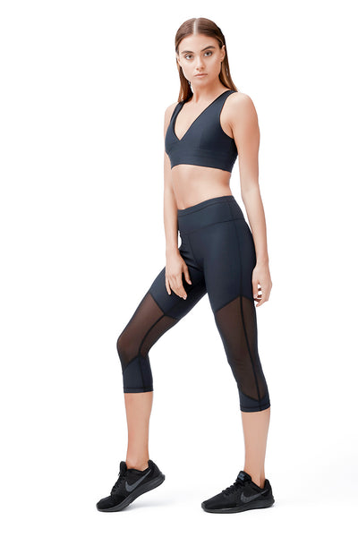 ALLFENIX - SPORTS BRA - SABLE V - BLACK - She Collective HK