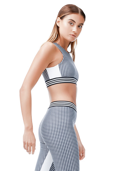 ALLFENIX - SPORTS BRA - GINGHAM - She Collective HK