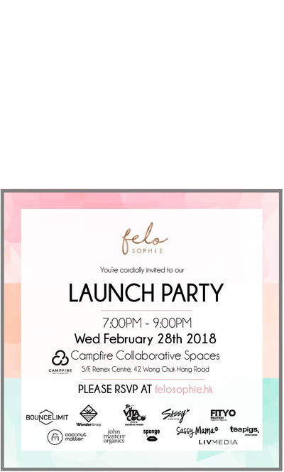 feloSOPHIE Launch Party - February 28th, 2018 - She Collective HK