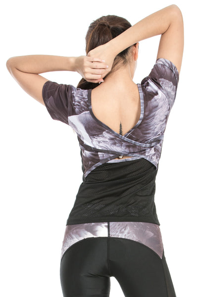 MISS RUNNER - TOP - 60 DEGREES WRAP BACK - She Collective HK