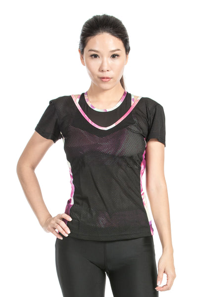 MISS RUNNER - TOP - SATURN WRAP BACK - She Collective HK