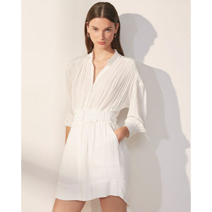 Suncoo White Rose Clara Dress