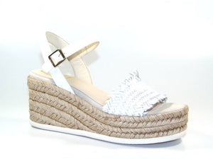 Kanna Mabel White Wedge