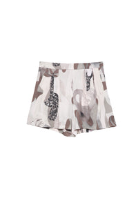 Polly Shorts Beige Marbel