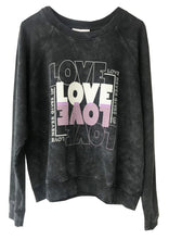Berenice Love Slogan Sweater In Carbon