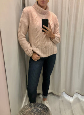 Moliin Rose High Neck Knit