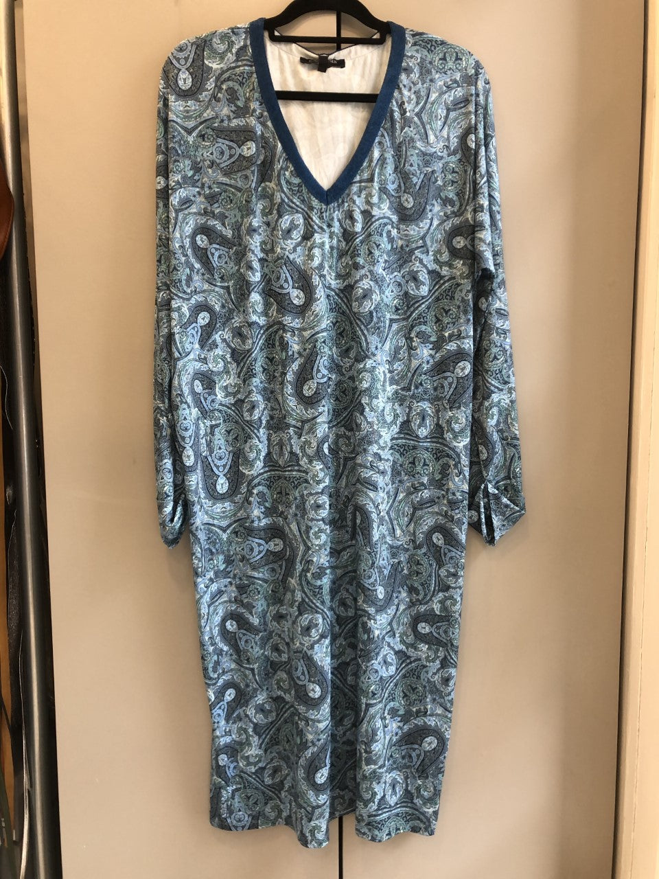 Ilse Jacobsen Nice Country Blue Midi Dress