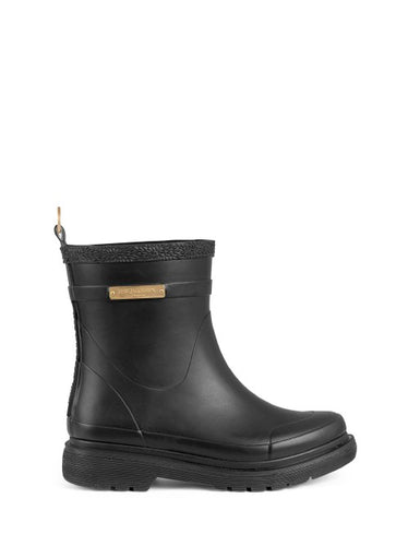 Ilse Jacobsen Black Short Rubber Boots
