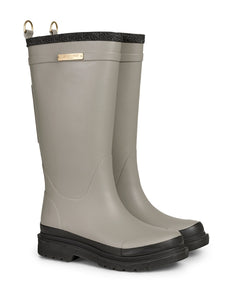 Ilse Jacobsen Beige Long Rubber Boot