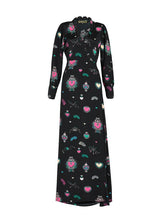 Stardust Scallop Heart Maxi Dress