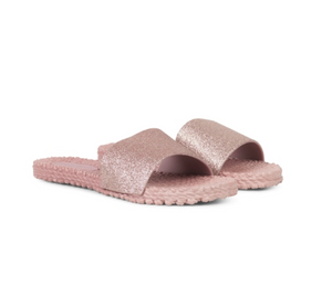 Ilse Jacobsen Misty Rose Slip-On Flip Flops