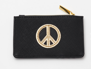 Estella Bartlett Black Peace Purse