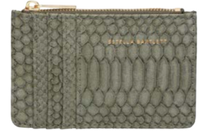 Estella Bartlett Khaki Snake Purse