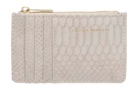 Estella Bartlett Taupe Snake Purse